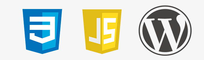 css3, javascrip y wordpress