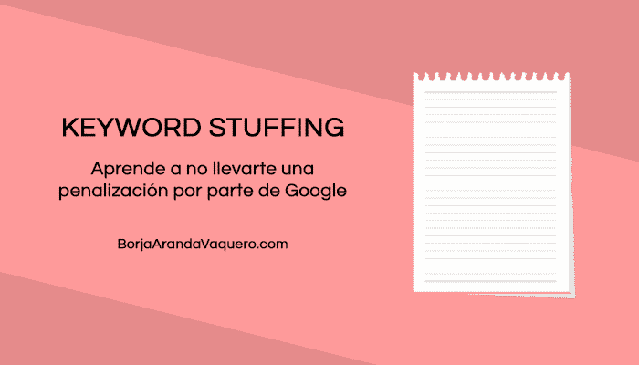 keyword stuffing seo