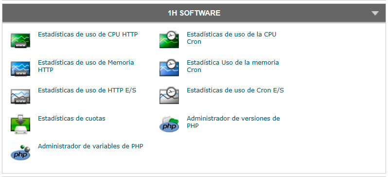 1h software cpanel siteground