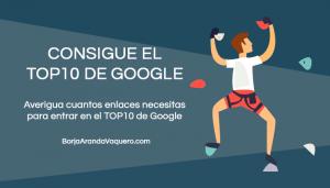 enlaces para conseguir el top10 en google