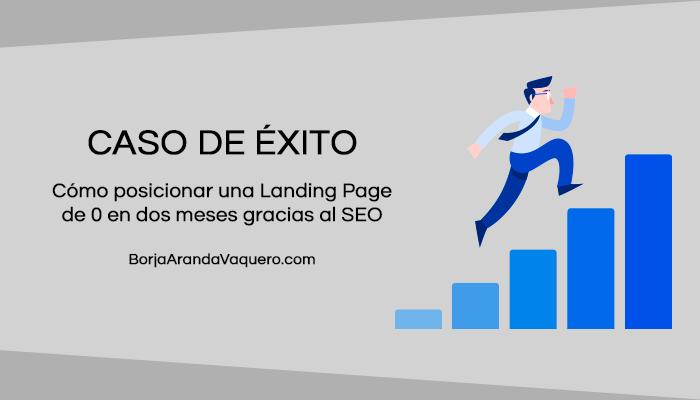 como posicionar landing page