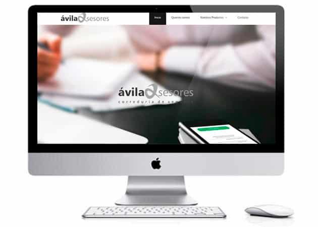 avila asesores web