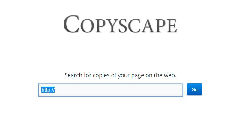 contenido duplicado con copyscape