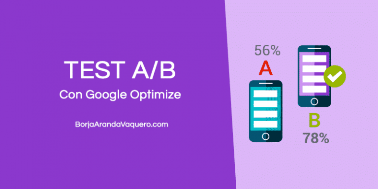 test ab con google optimize