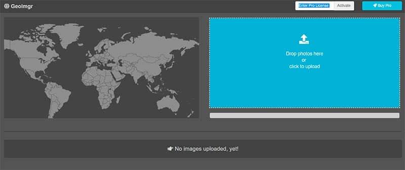geolocalizar imágenes