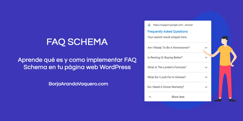 implementar faq schema wordpress
