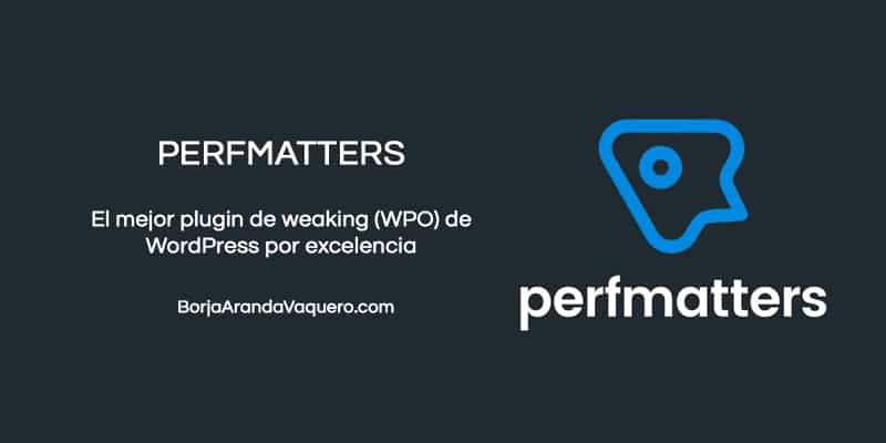 perfmatters plugin wordpress tweaking