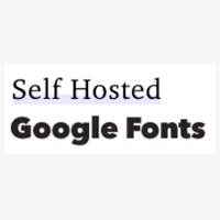 self hosted google fonts icon