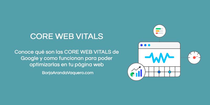 core web vitals de google