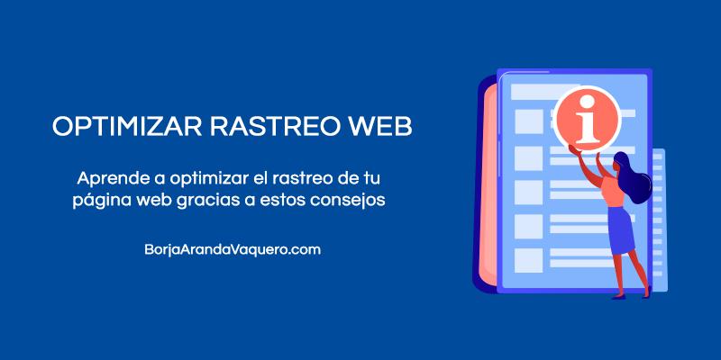 Cómo optimizar rastreo página web